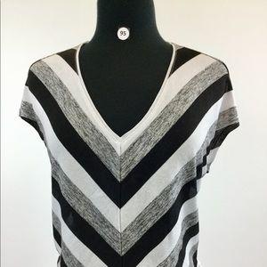 WHBM Multi Black and White Sweater Size XS (B-95)